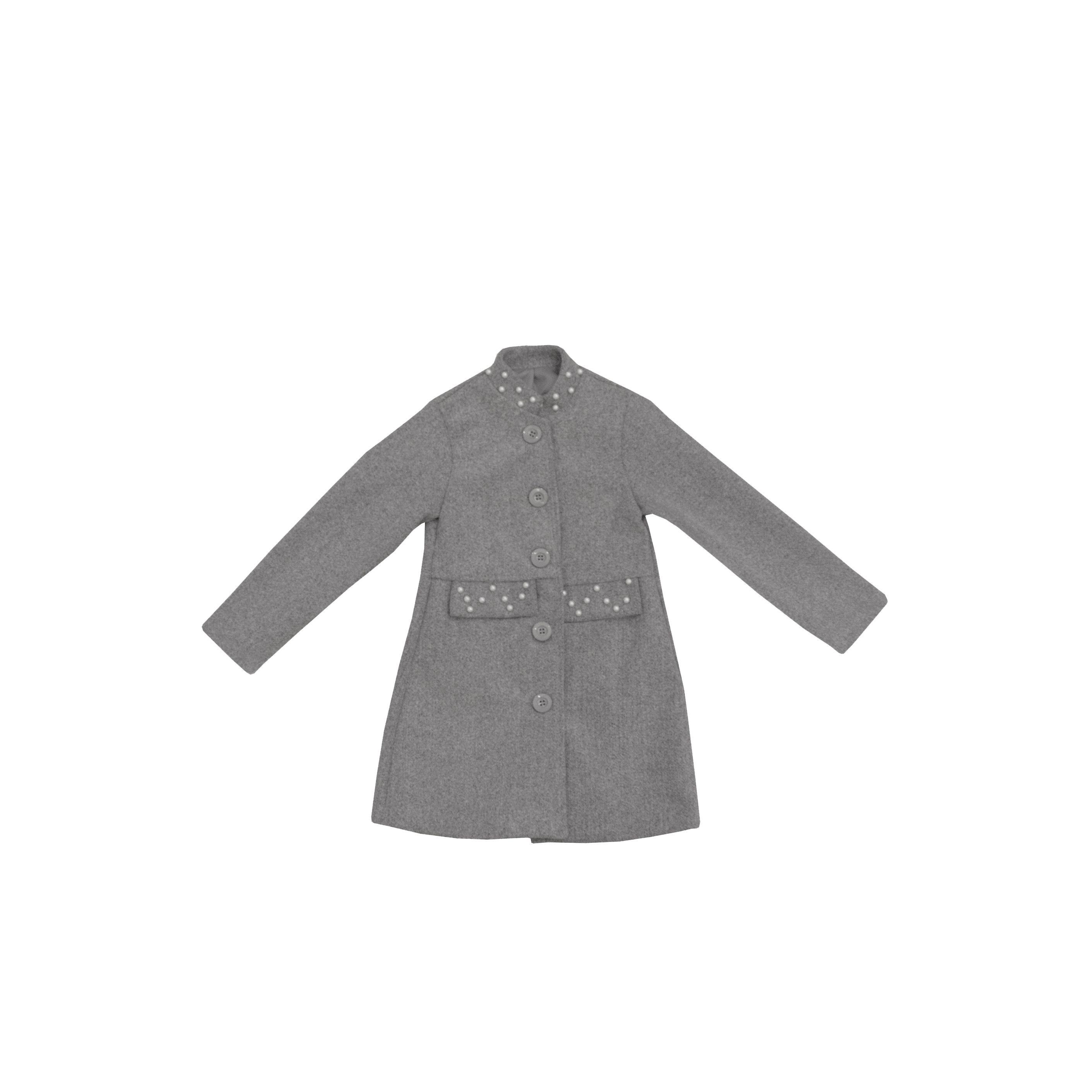 Παιδικά ρούχα - Παλτό Κορίτσι Γκρι 17355 for only 20.00 !!! 00ee6e15bfa